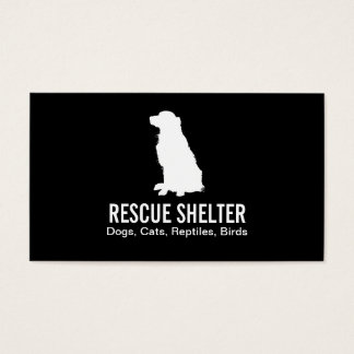 Sitting Dog | Veterinarian Business Card