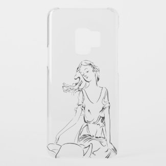 Sitting Fairy... Uncommon Samsung Galaxy S9 Case