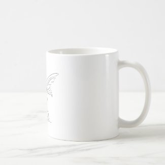 Sitting Fairy with Wings… Coffee Mug