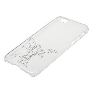 Sitting Fairy with Wings iPhone 7 Clearly™ Case