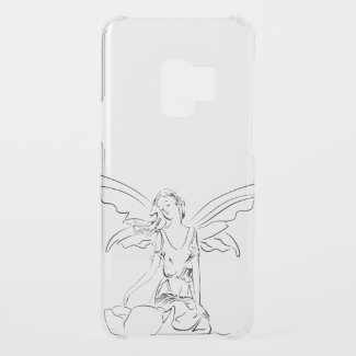 Sitting Fairy with Wings... Uncommon Samsung Galaxy S9 Case
