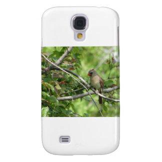 Sitting Female Cardinal Samsung S4 Case
