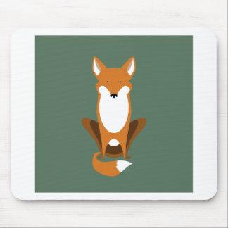 Sitting Fox Mouse Pad