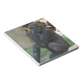 Sitting Gorilla Notepad