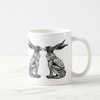 Sitting Hare Coffee Mug