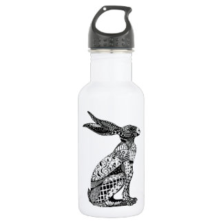 Sitting Hare Stainless Steel Water Bottle