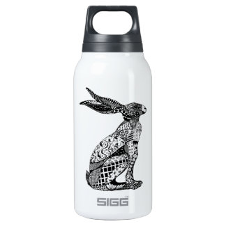 Sitting Hare Thermos Water Bottle