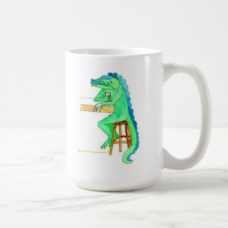 Sitting Here Dragon Mug