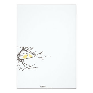 """Sitting in a Tree Foldable Placecard 3.5"""" X 5"""" Invitation Card"""