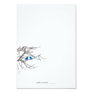 Sitting in a Tree Wedding Foldable Place Card