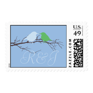 Sitting in a Tree Wedding Postage