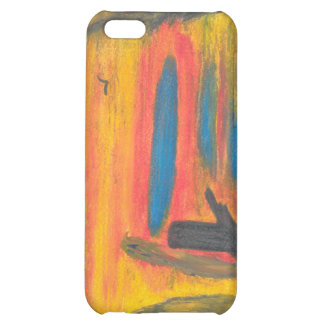 Sitting in the Falling Rain with a Big Bird Case For iPhone 5C