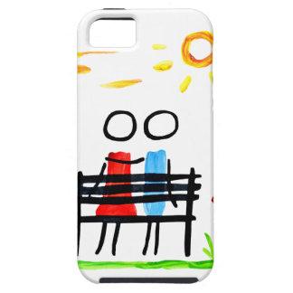Sitting in the sunrise iPhone SE/5/5s case