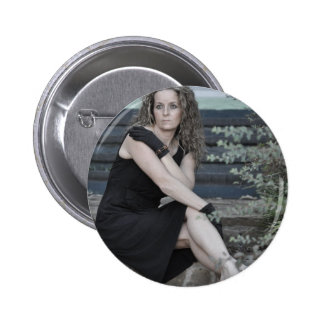 Sitting in Wonder Over Someone Like You Pinback Button