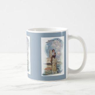 Sitting On The Dock Coffee Mugs