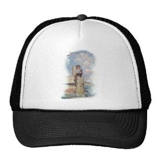 Sitting On The Dock Mesh Hats