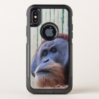Sitting Orang Utan - OtterBox Commuter iPhone X Case