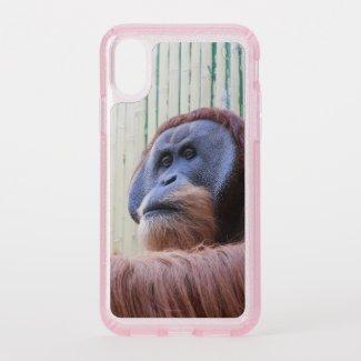 Sitting Orang Utan - Speck iPhone X Case