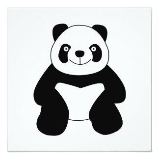 Sitting panda card