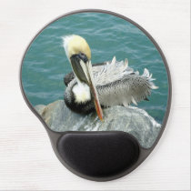 Sitting Pelican Gel Mouse Pad