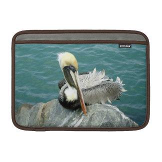 Sitting Pelican MacBook Air Sleeve