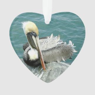 Sitting Pelican Ornament