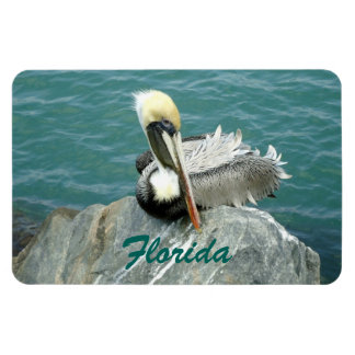 Sitting Pelican Flexible Magnets