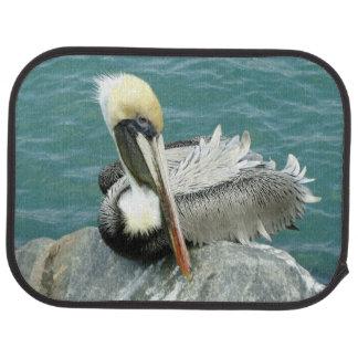 Sitting Pelican Rear Car Floor Mat