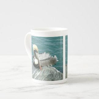 Sitting Pelican Tea Cup