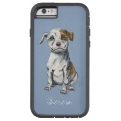 Case-Mate Barely There iPhone 6 Case with Bull Terrier Phone Cases design