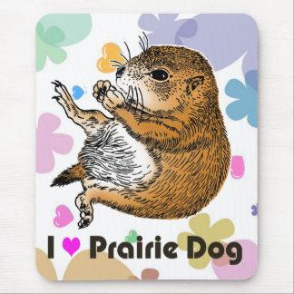 sitting prairie dog mouse pad