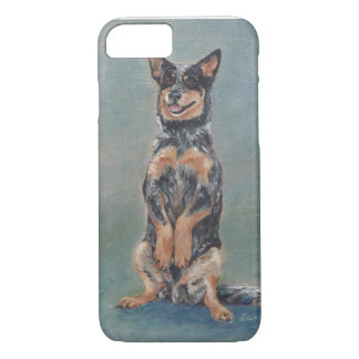 Sitting pretty cattle dog iPhone 8/7 case