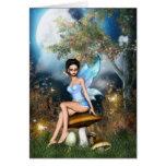 Sitting Pretty Fairy Greeting Card