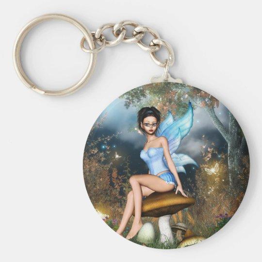 Sitting Pretty Fairy Keychain
