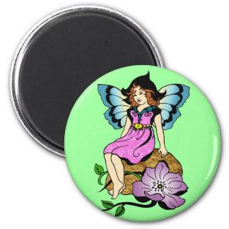Sitting Pretty Fairy Magnet
