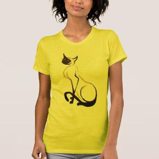 Sitting Pretty Siamese Cat T-Shirt