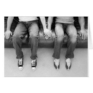 Sitting Together Forever Card