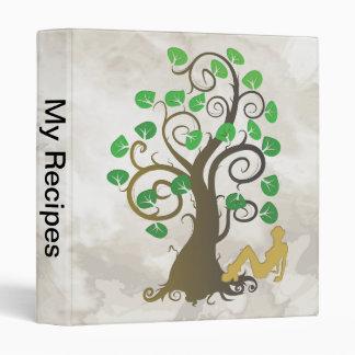 Sitting Under the Tree Vinyl Binder