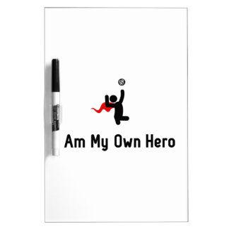 Sitting Volleyball Hero Dry-Erase Board