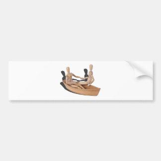 SittingInBoatHoldingHands050314.png Bumper Sticker