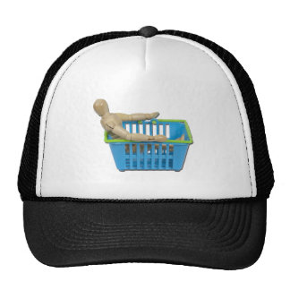 SittingInShoppingBasket101311 Trucker Hat
