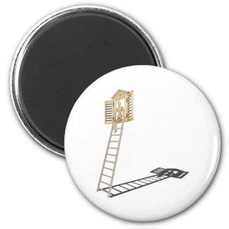 SittingLadderToShutteredWindow090312.png 2 Inch Round Magnet