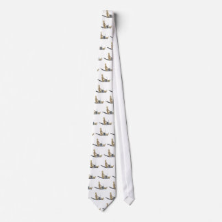 SittingOnFloorWithLaptop012915 Neck Tie
