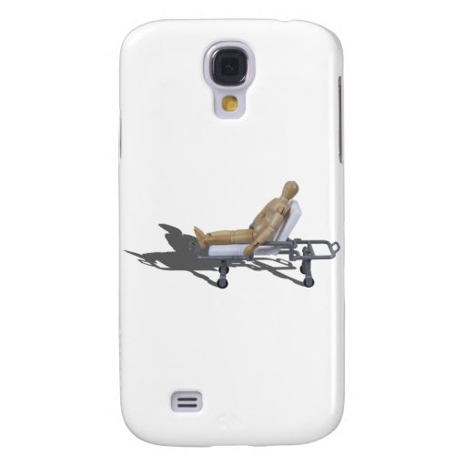 SittingOnGurney022111 Funda Para Galaxy S4
