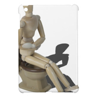 SittingOnToiletWithPain082414 copy iPad Mini Cover