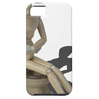 SittingOnToiletWithPain082414 copy iPhone SE/5/5s Case
