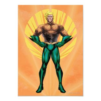 """Situación de Aquaman Invitación 5"""" X 7"""""""