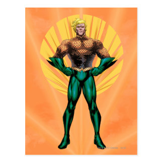 Situación de Aquaman Tarjeta Postal