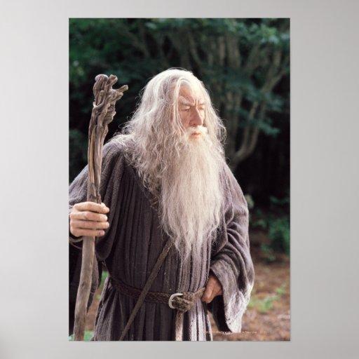 Situación de Gandalf Póster