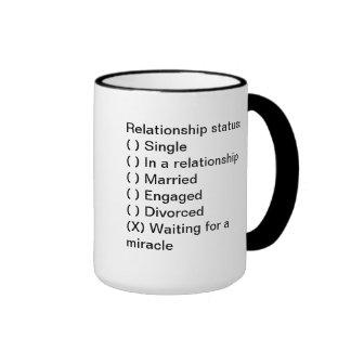 Situación de la relación Esperar una taza del mil